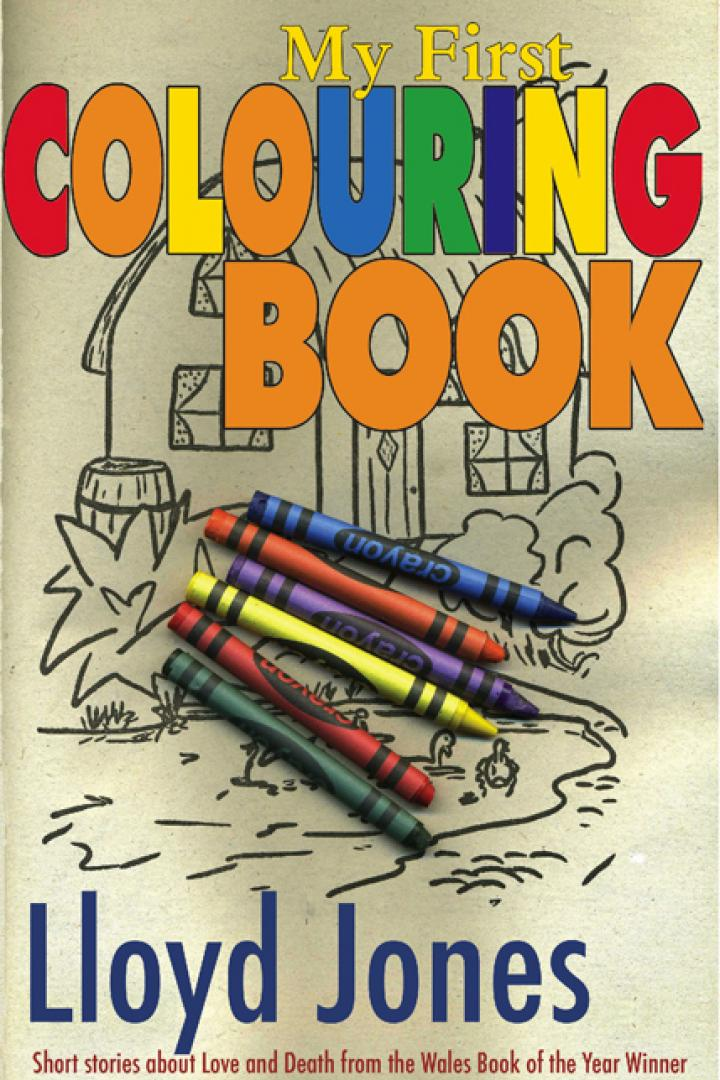 my first colouring book, lloyd jones