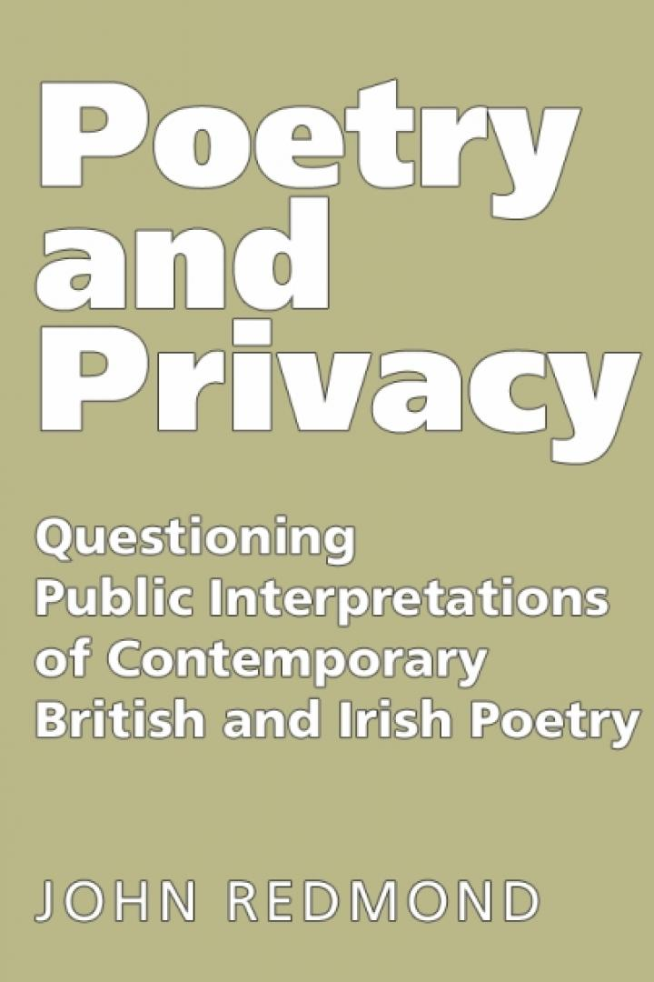 Poetry and Privacy, John Redmond
